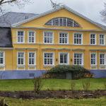 Hinterausgang des schönen Anwesens Musenhof