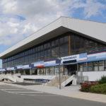 Stadthalle Rostock Westseite