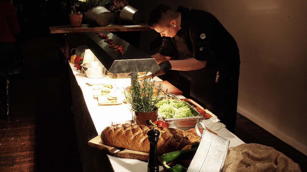 w.Holz Catering in der Kunsthalle